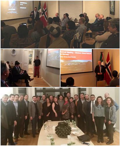 Segunda reunión anual del Capítulo Noruega de la Red Global MX