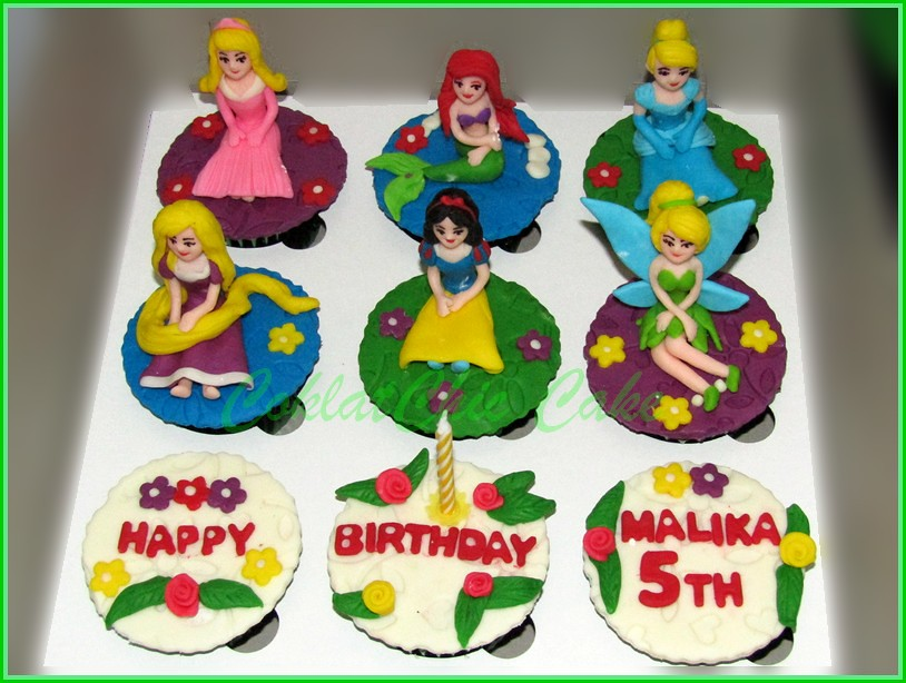 Cupcake set Princes