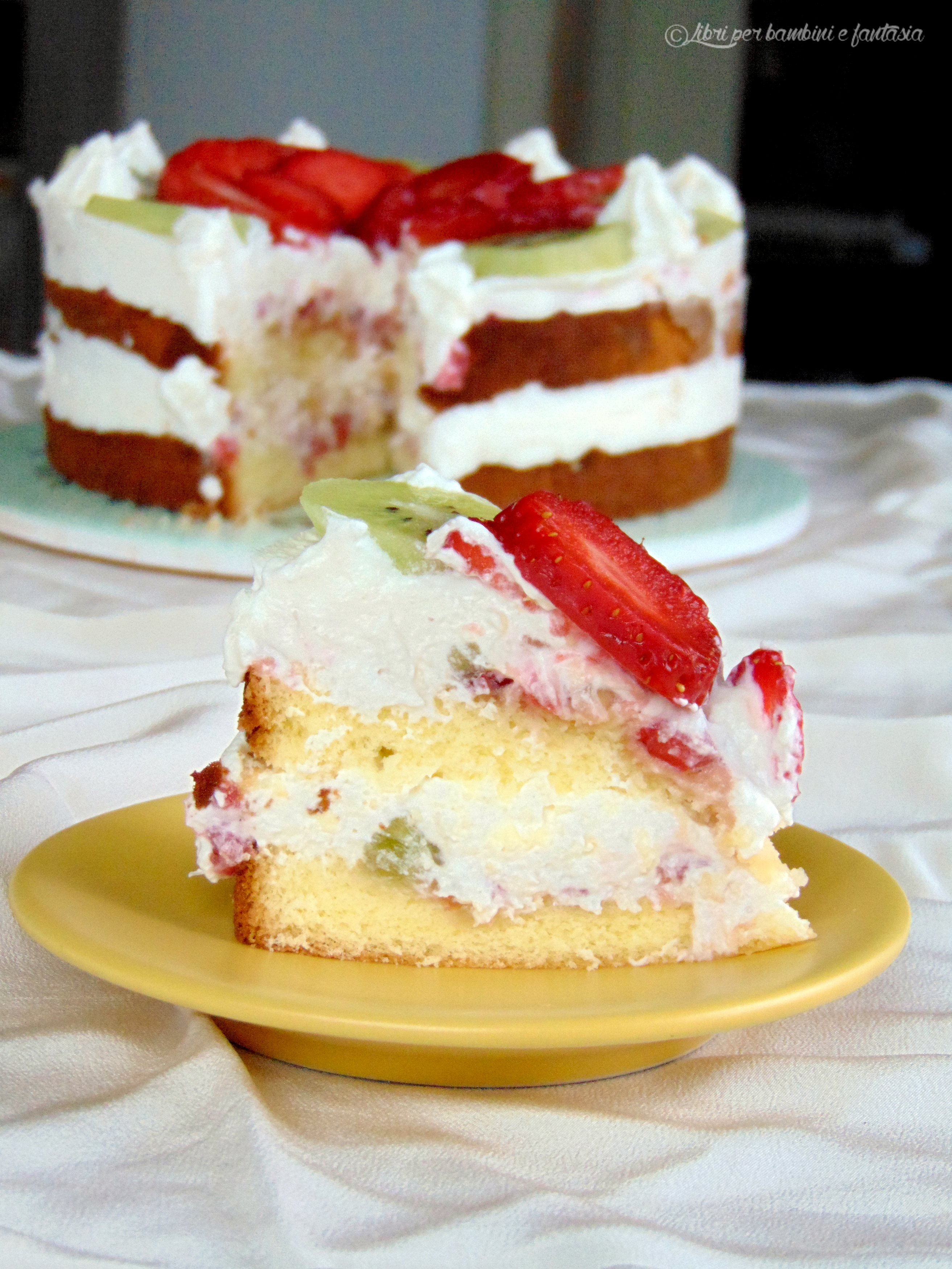 torta frutta e ricotta 3