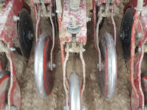 Drills should be cleaned from mud to prevent rust and ensure proper func.._