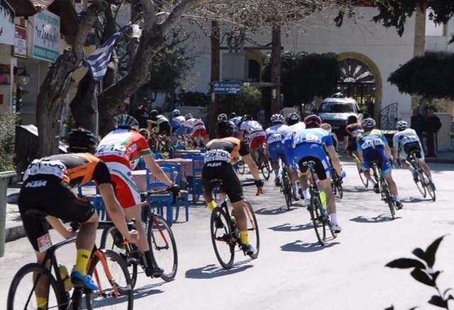Διεθνής Ποδηλατικός Γύρος Ρόδου 2018 - Το πέρασμα των ποδηλατών από την Ψίνθο