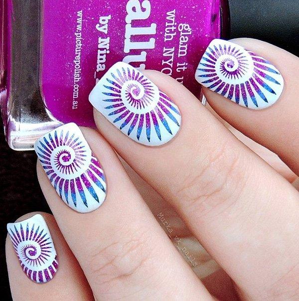 43 Classy And Stylish Multicolored Nail Art Designs Fashion 2d