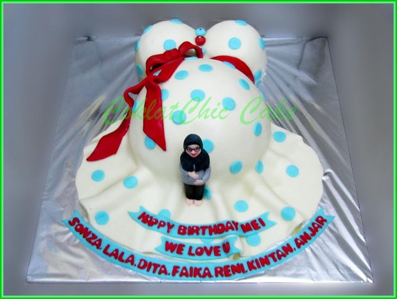 Cake Ibu Hamil MEI 15 cm