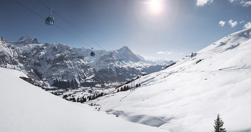 Grindelwald first winter. From Have A Swiss Travel Pass? Happy Traveling via Trains, Boats, and Land