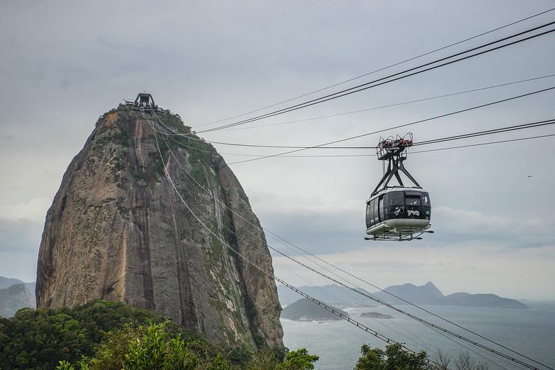 Rio de Janeiro Brazil Brasilia gondola gondoli Sokeritoppa Sugarloaf mountain