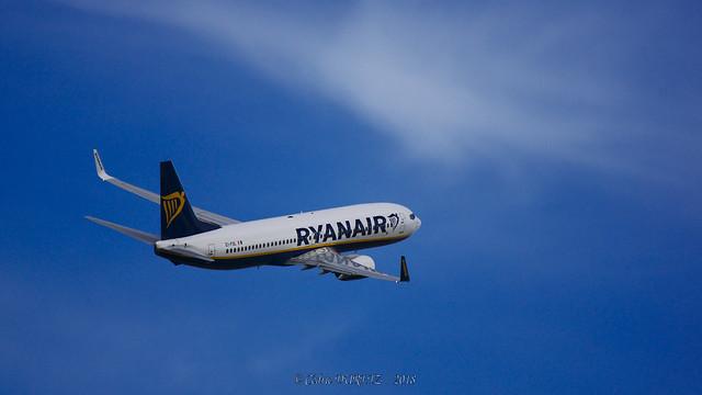 Boeing 737-8AS Ryanair EI-FOL, Sony SLT-A77V, Tamron SP 150-600mm F5-6.3 Di USD