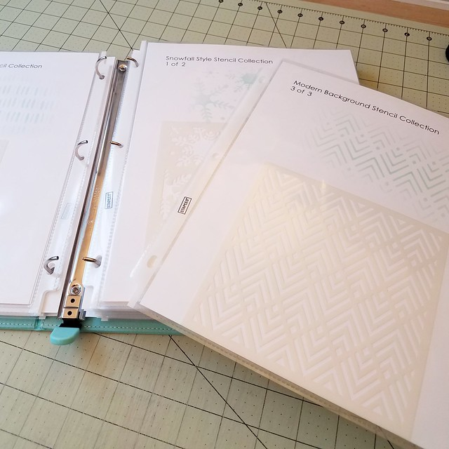 Stencil Binder Pages