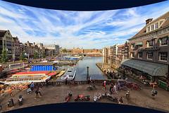 Cinerama look: Amsterdam Rokin