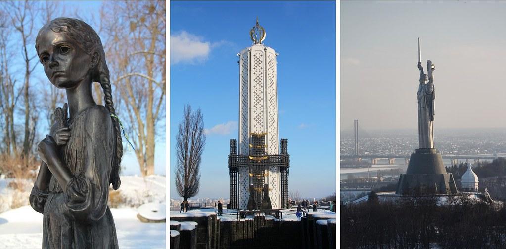 Киев - Родина-мать и ужасы Голодомора