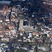 St Giles Church in Norwich - aerial