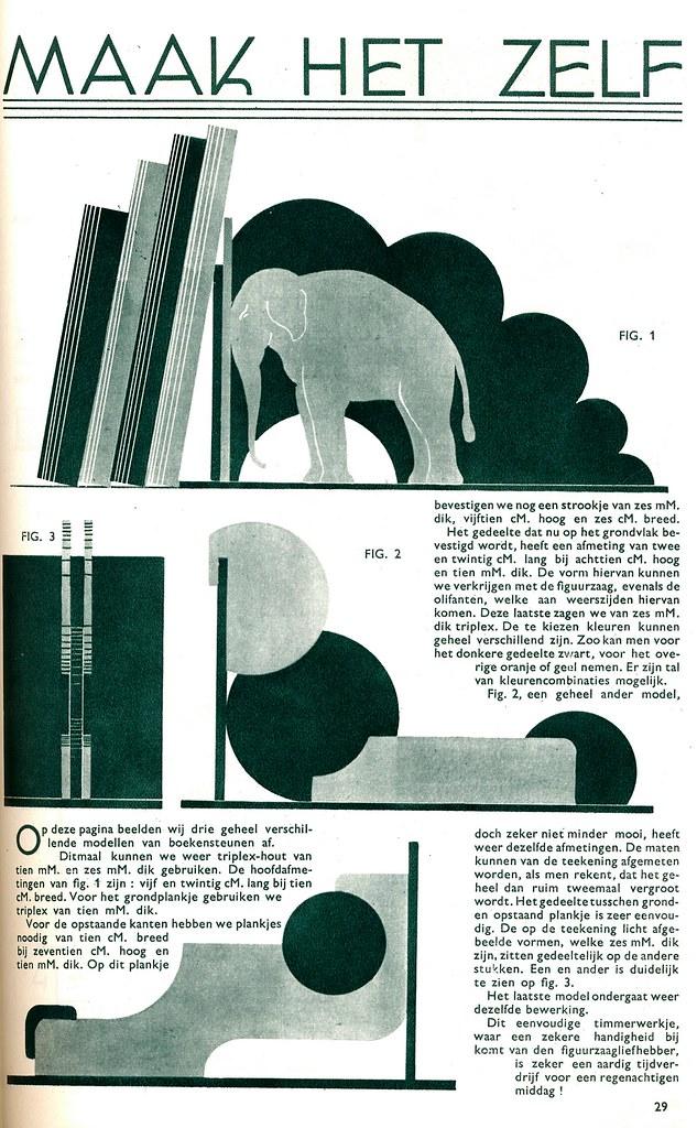 Extra, uitgave Jamin, 1935, ill Boekenteun