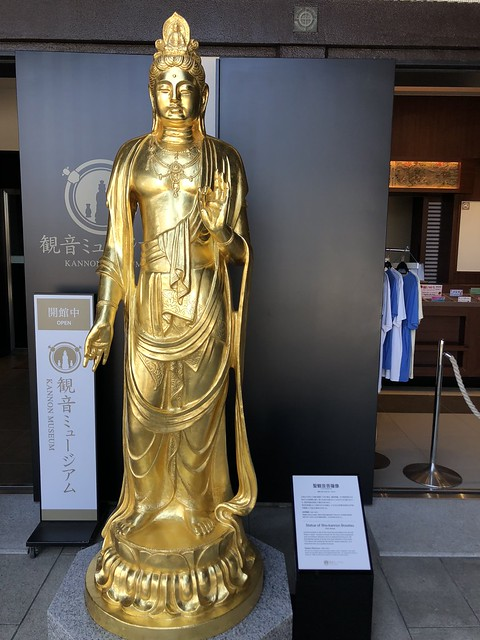 Statue of Kannon at Hase-dera temple