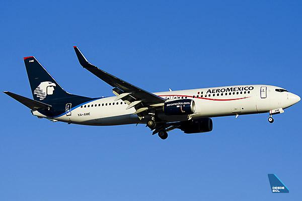 Aeroméxico B737-800 (Ricardo Morales Centeno)