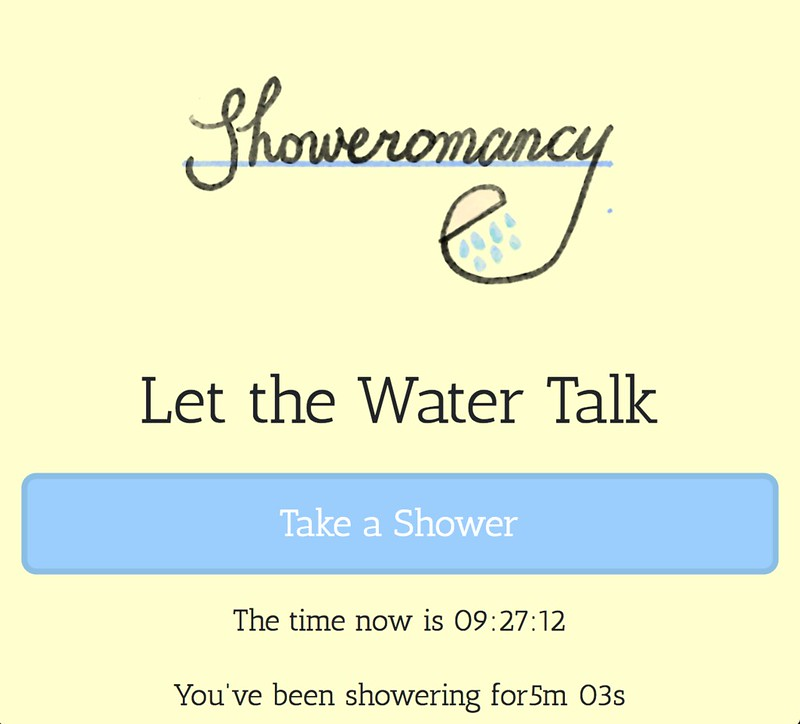 Showeromancy