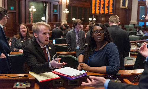 UIS Feature: Legislating leadership