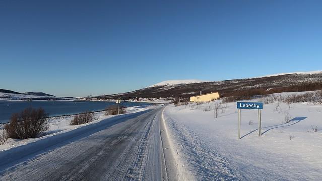 Ifjord to Kjøllefjord in Norway