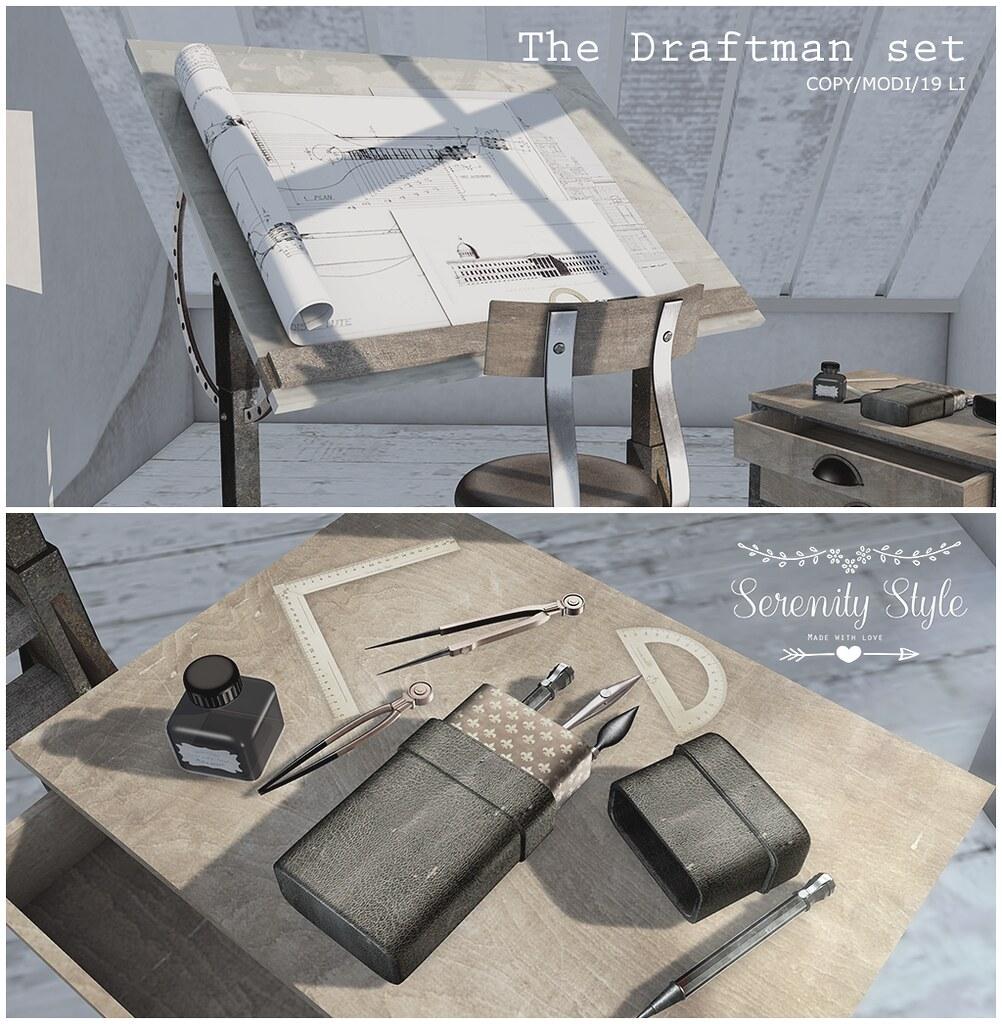 Serenity Style- The Draftman Set - TeleportHub.com Live!