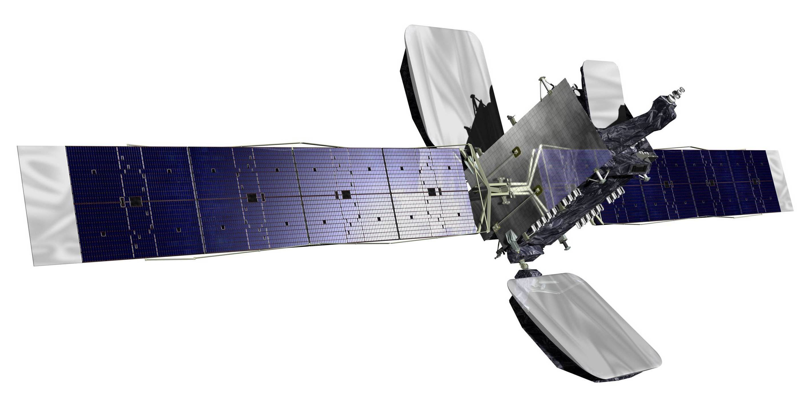 MEASAT-1 satellite. Image courtesy of MEASAT Satellite Systems.