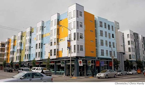 Condos at 8th and Howard with market at ground level in San Francisco