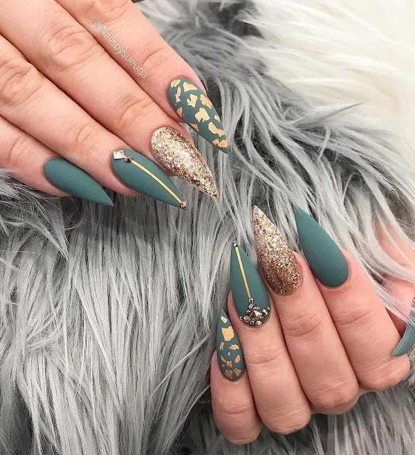 Inspired Nail Art Design