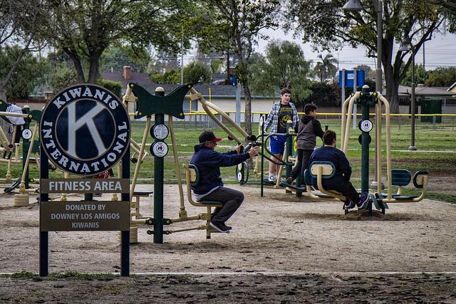 Furman Park exercise