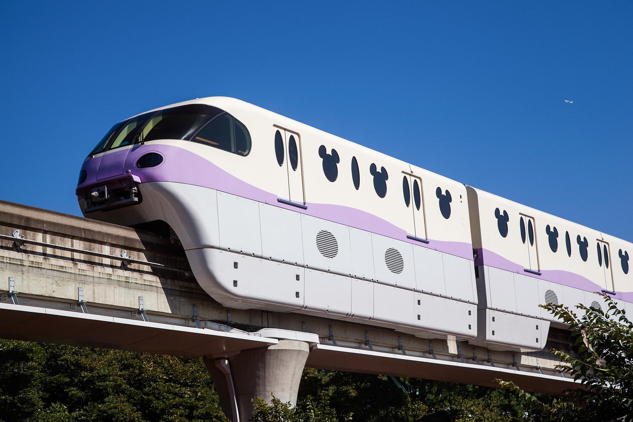 Tokyo Disney Sea Monorail