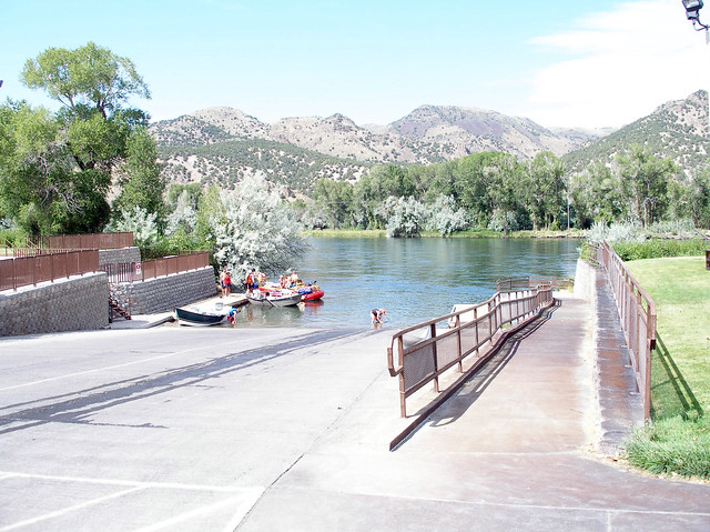 South Fork of the Snake River: Byington Boat Launch