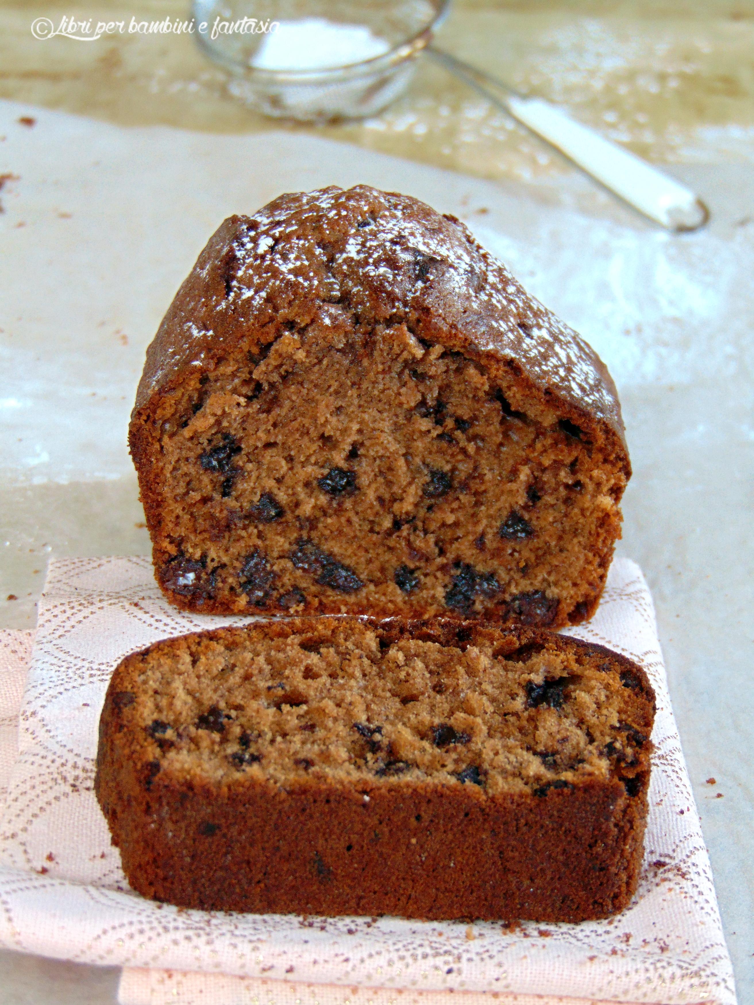 plum cake al cioccolato Massari