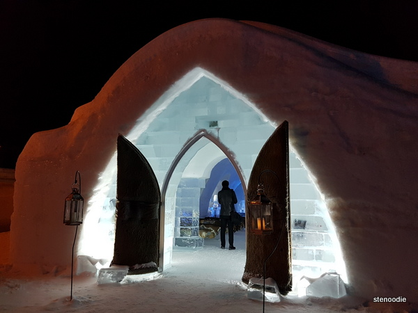 ice chapel Quebec