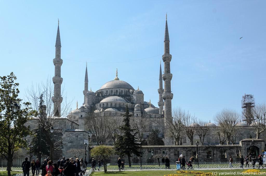 Стамбул, от ипподрома к Чемберлиташ