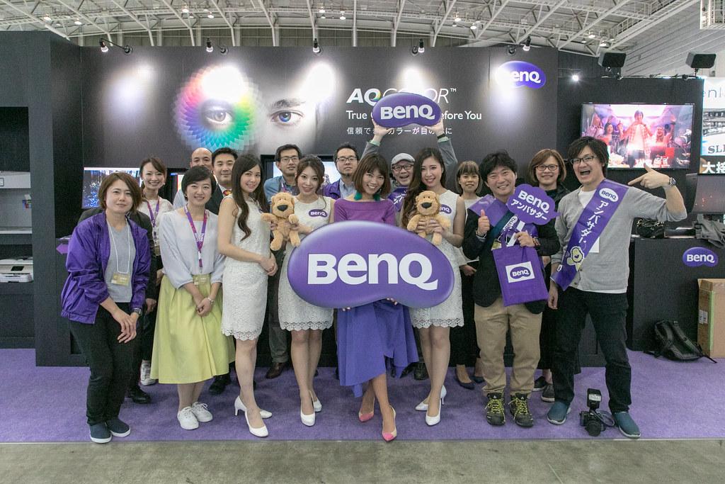 CP+2018 BenQ 取材