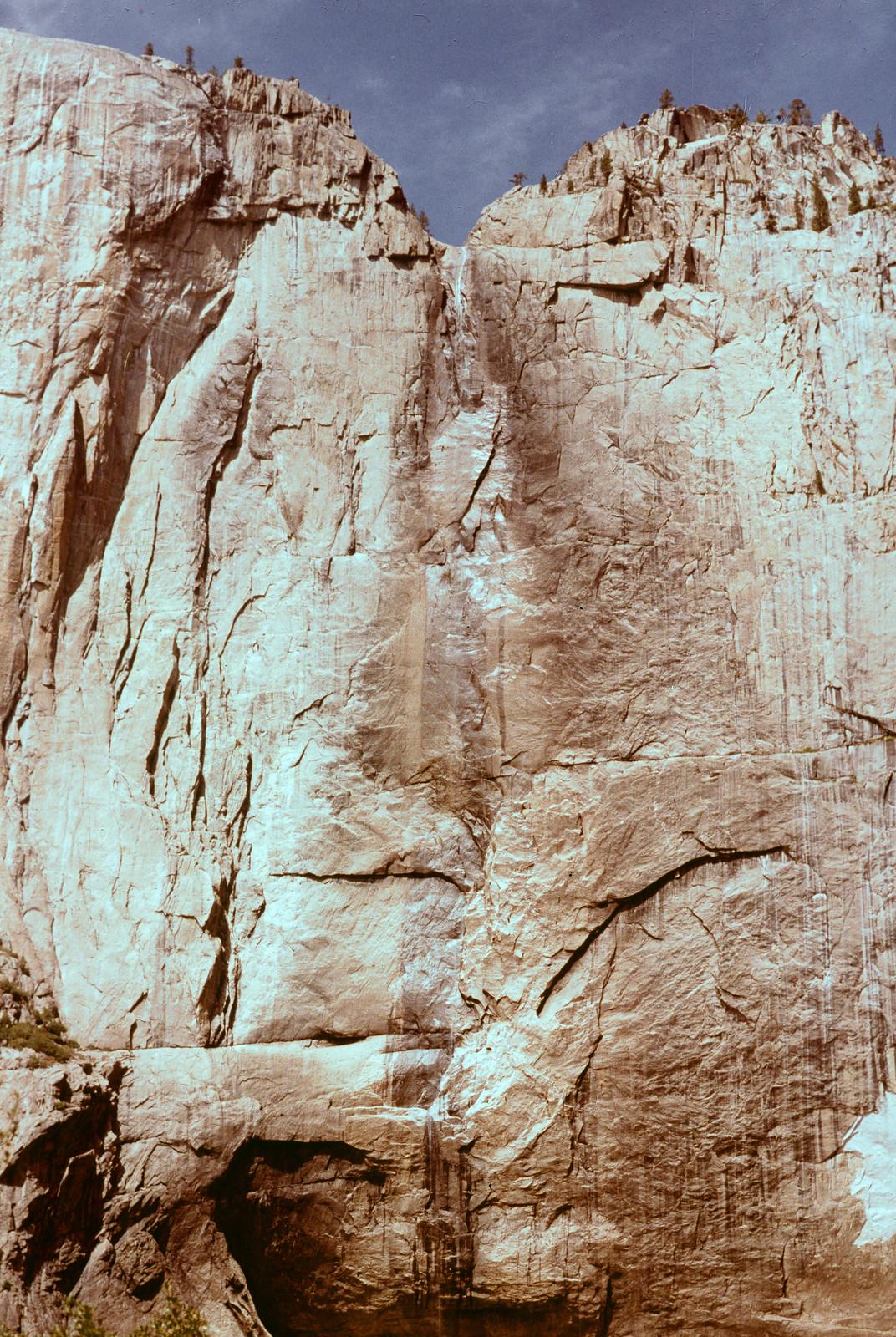 Upper Yosemite Falls (dry)