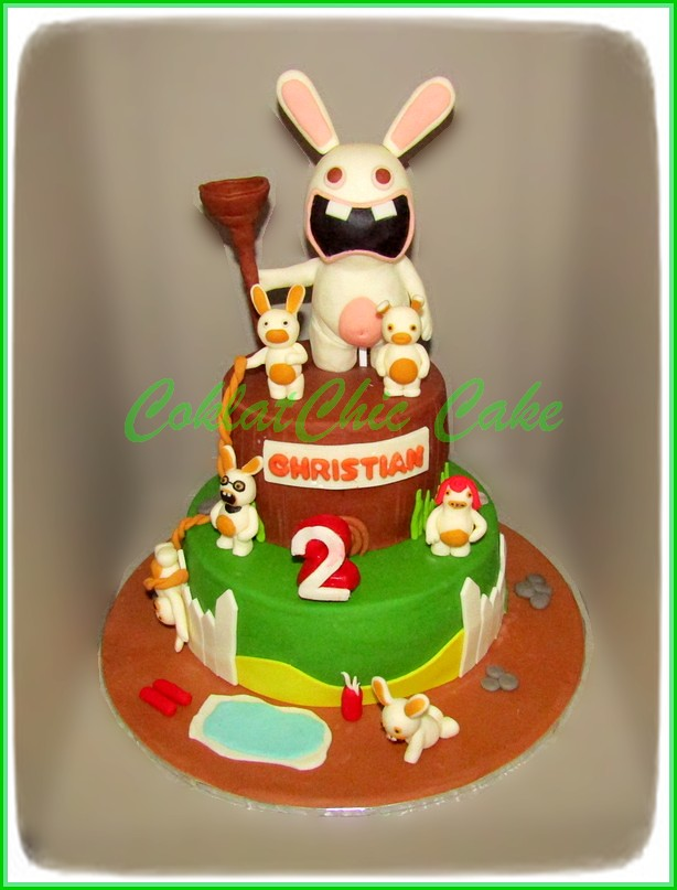 Cake Rabbit  Invassion CHRISTIAN 15 cm + 12 cm