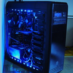 PC building5 - blue LED