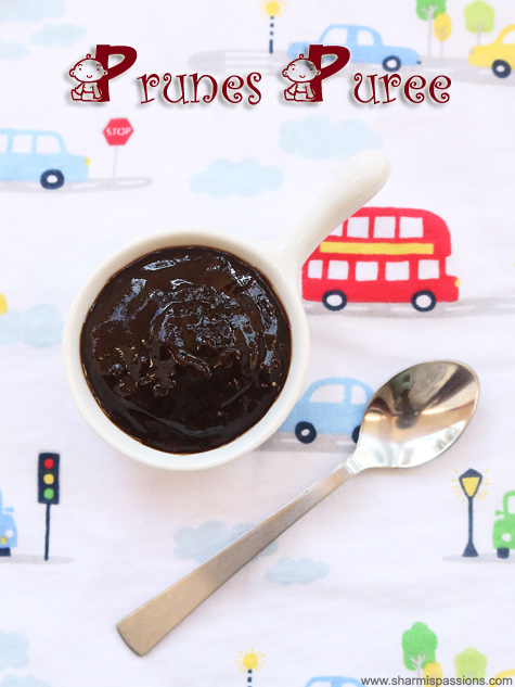 prunes puree recipe