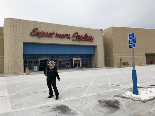 Headed into the Papillion Nebraska Target