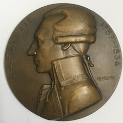 1930 Paquebot Lafayette Medal obverse