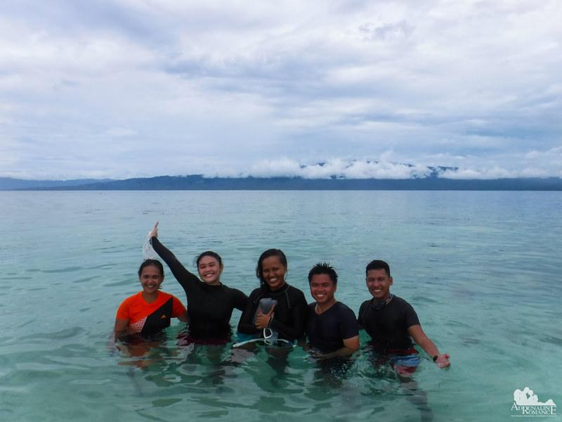 Enjoying Digyo Island