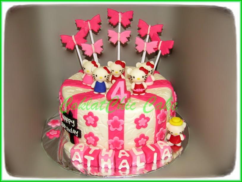 Cake Hello Kitty ATHALIA 18 cm