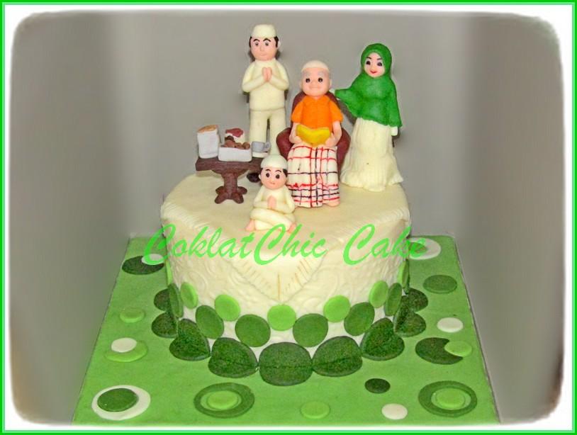 Cake Lebaran Family 15 cm