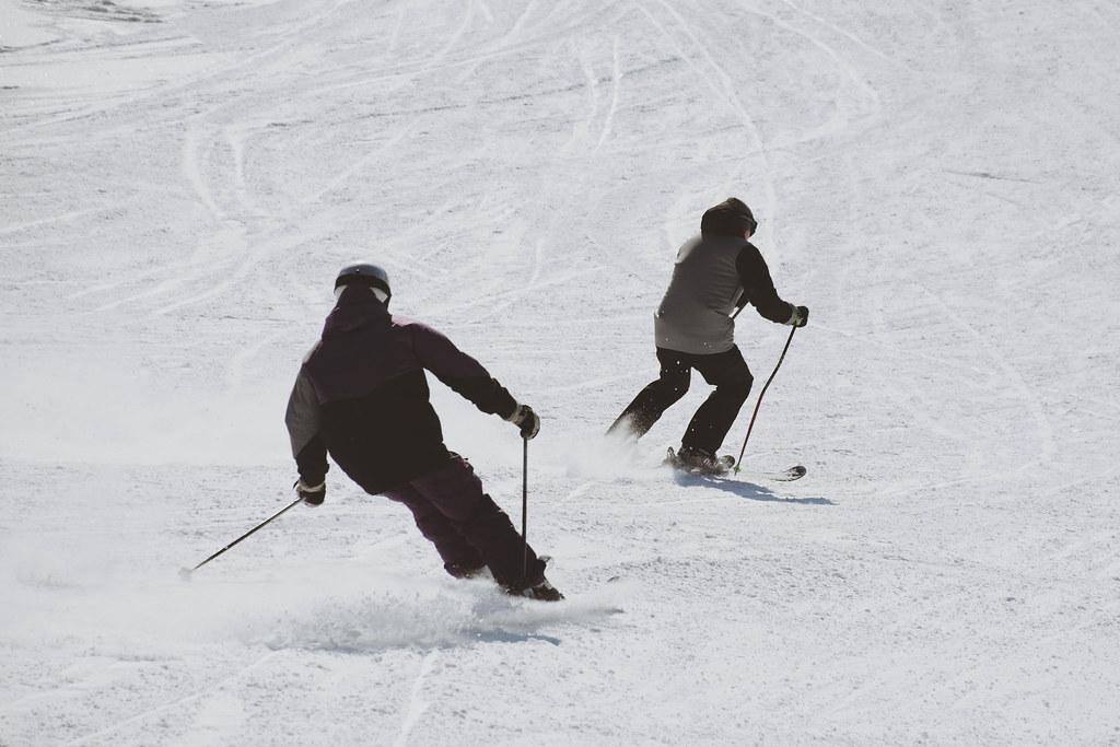 lycksele bocksliden vinter snö slalom