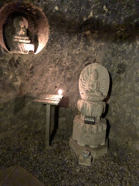 Inside the Hase-dera caves