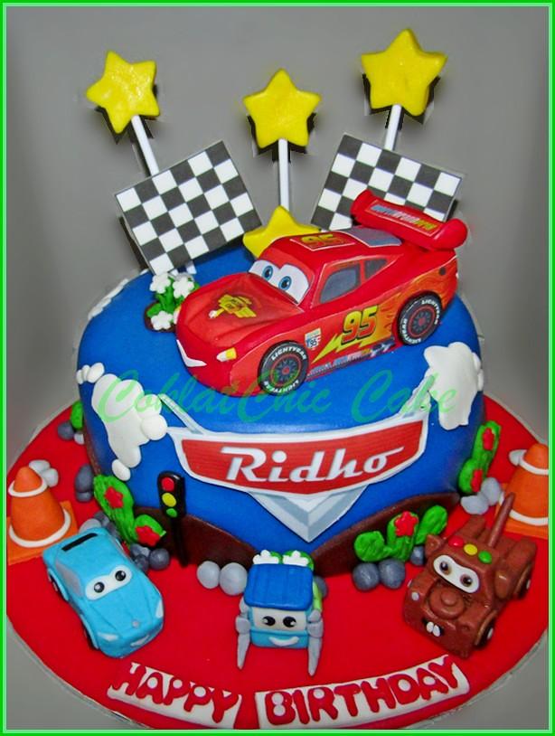 Cake disney Cars 15 cm