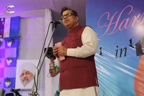 Kamal Gupta, MLA, expresses his views