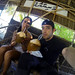 8. Bebiendo coco fresco en un chiringuito de Maldivas