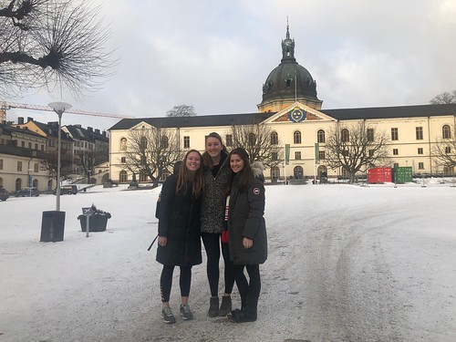 Courtney Mitchell '19 (majoring in International Relations and Economics) in Stockholm with the Swedish Program 2