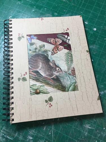 Bunny Themed Garden Journal Cover