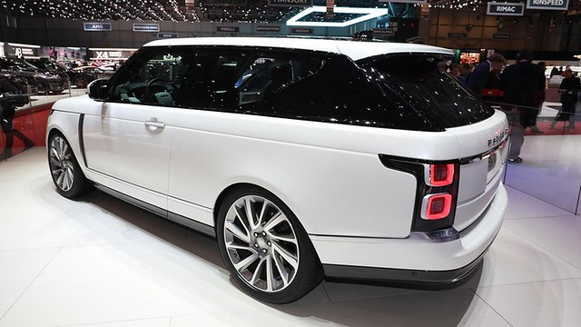 Range Rover SV Coupe n