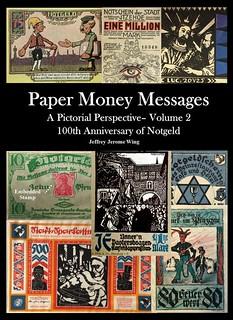 Paer Money Messages Vol 2 cover