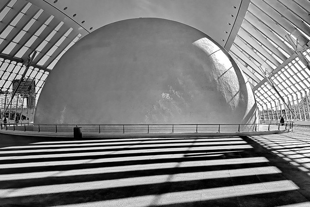 The igloo with light and shadow